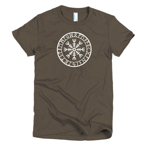 Helm of Awe (Short sleeve women's t-shirt)