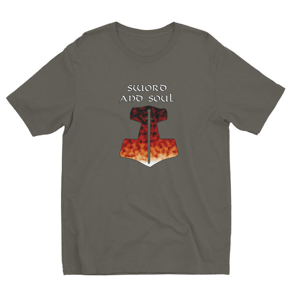 Sword and Soul (Short sleeve men's t-shirt)