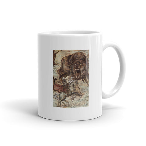 Battle Against Fenrir Mug