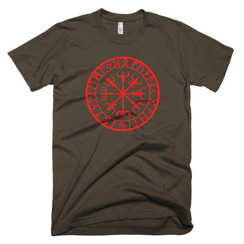 Nordic Compass (Short sleeve men's t-shirt)