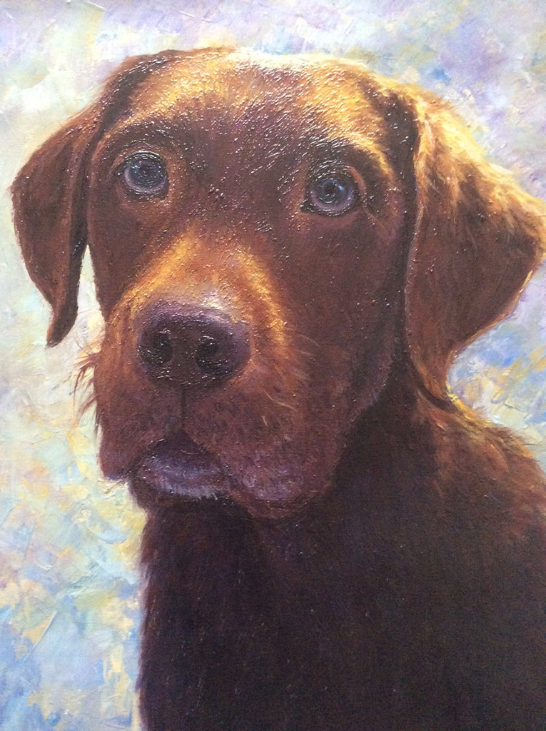"When will your artist use ""artistic licence"" on my pet portrait? Part Two -Lighting"