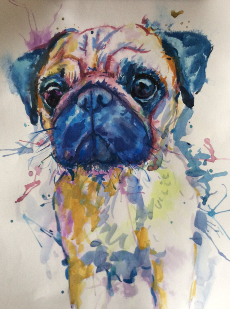 Do you do abstract pet portraits?