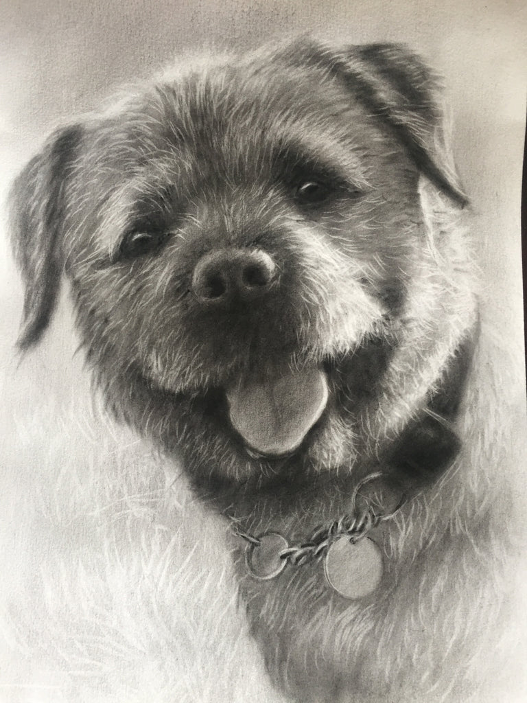Is this the cutest dog drawing ever??