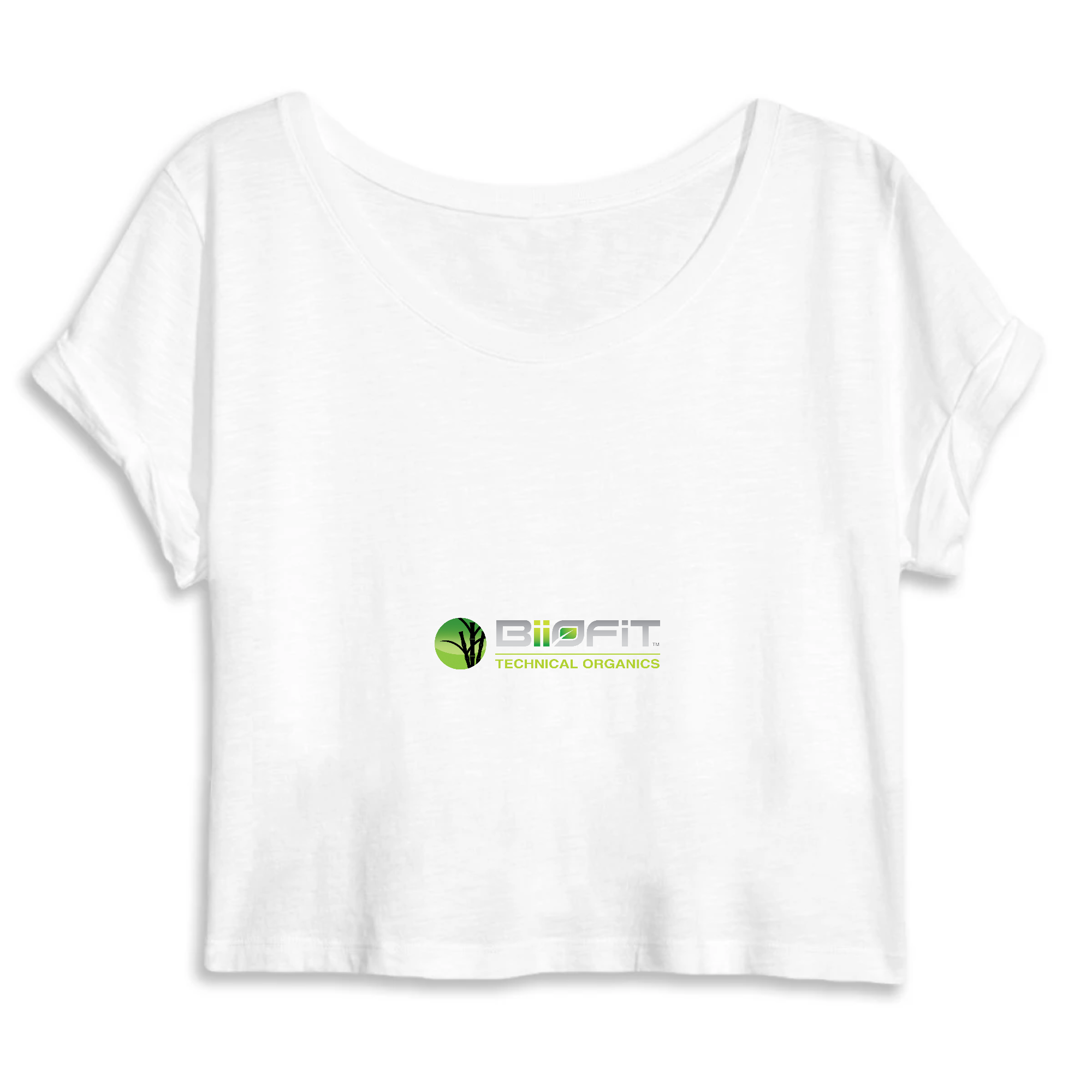 WOMEN ORGANIC CROP TOP - MANTIS