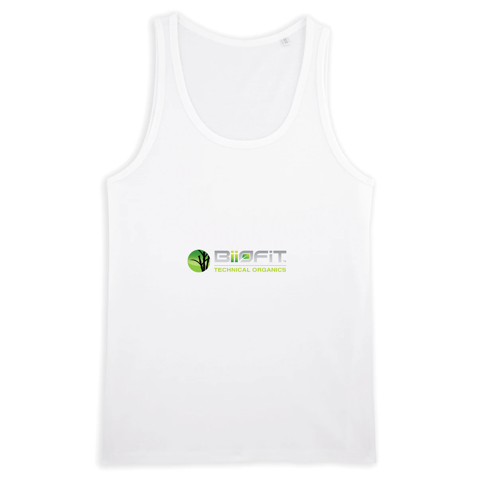 MAN TANK TOP 100% ORGANIC COTTON - RUNS