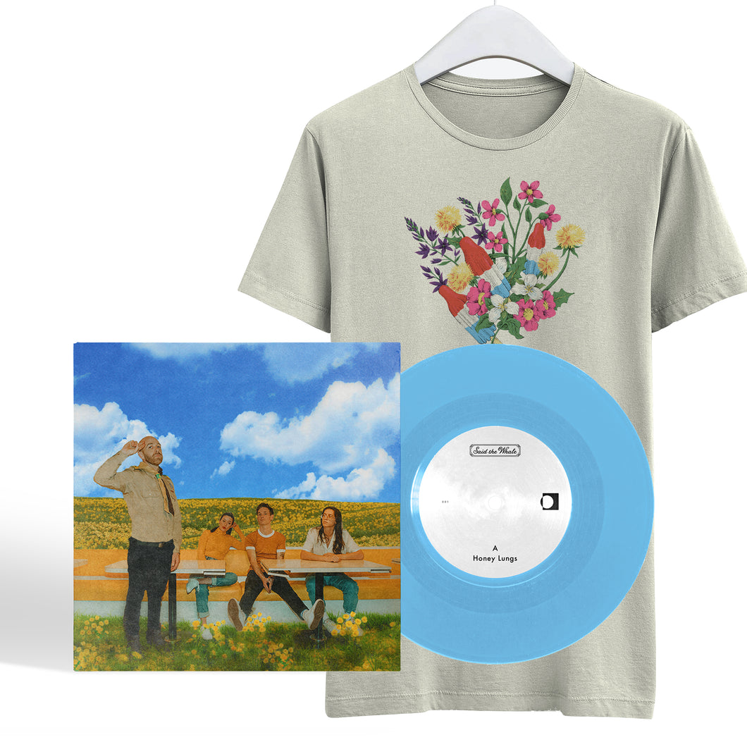 Honey Lungs VINYL + T-SHIRT **Bundle**