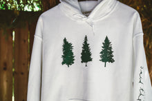Load image into Gallery viewer, Cascadia Unisex Pullover Hoodie (WHITE)