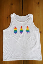 Load image into Gallery viewer, Rainbow Trees Summer Tank Top