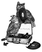 Load image into Gallery viewer, Owl Record Shop Tee (HOO HOO)