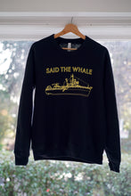 Load image into Gallery viewer, Life Aquatic Belafonte Black Pullover