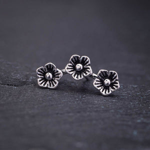 Three Flower Helix Earring Cartilage Earrings Piercings