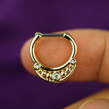 Zircon Septum Ring daith Earrings Daith Piercing septum jewelry
