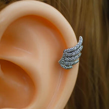 Sparkle Wing Zircon Helix Earring Helix Piercing Cartilage Earring