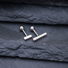 Simple Bar Helix Tragus Earring Tragus Jewelry Tragus piercing Cartilage Piercing Helix Earring