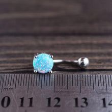 Opal Belly Ring Body Jewelry Body Piercing