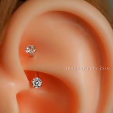 daith earring daith piercing 16g rook earring rook piercing eyebrow ring snug piercing rose gold curved bar 6mm 8mm