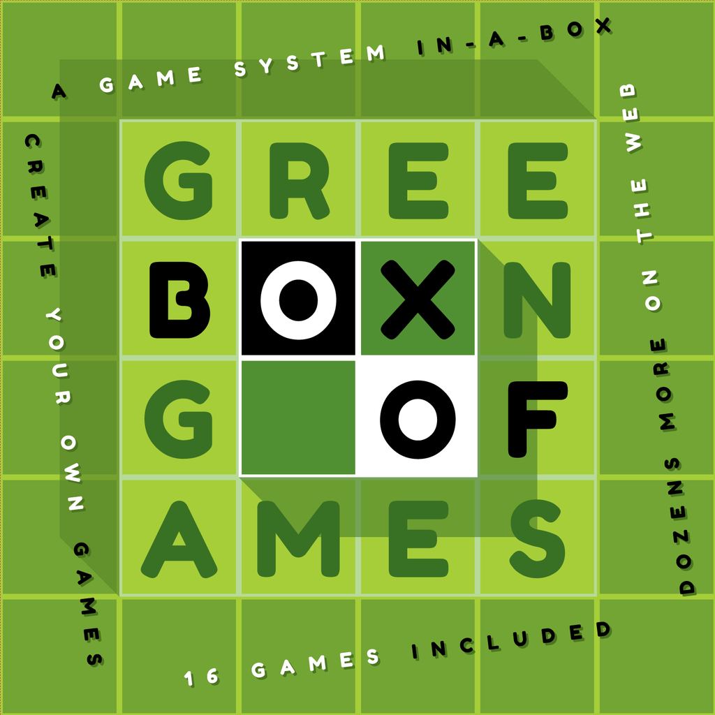 Green Box of Games - Second to None Edition - International shipping
