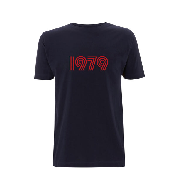 1979 Mens Tshirt Navy / Red