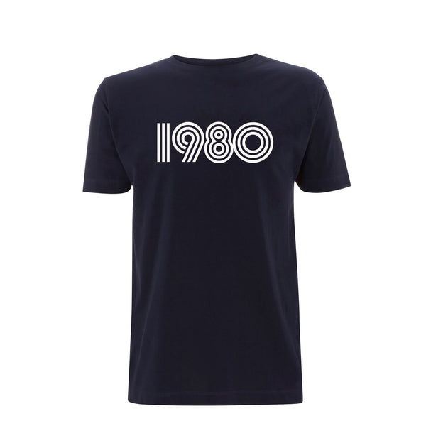 1980 Mens Tshirt Navy