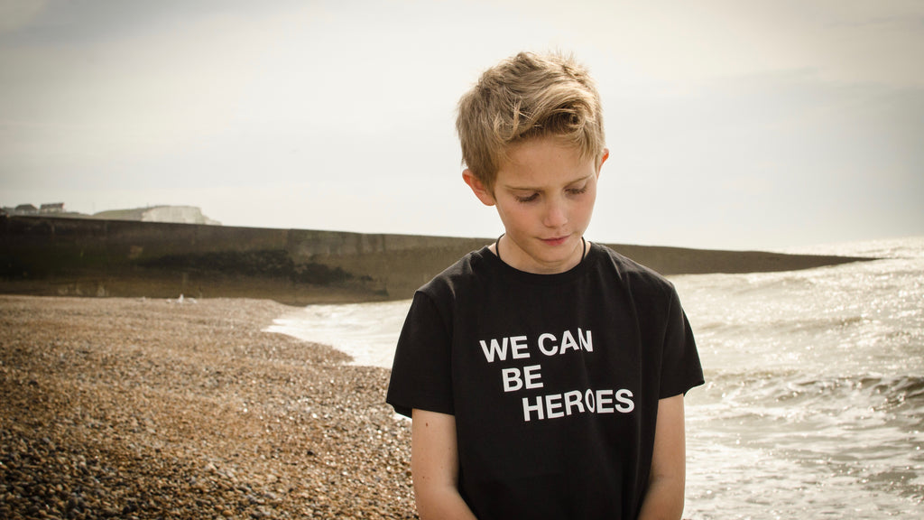 We Can Be Heroes Black
