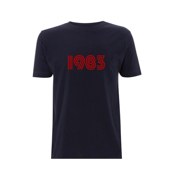 1983 Mens Tshirt Navy