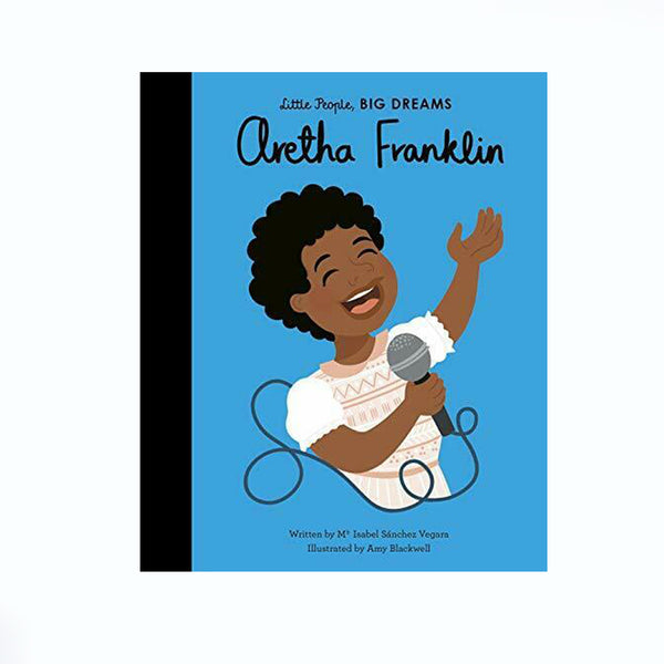 Little People Big Dreams Book Aretha Franklin
