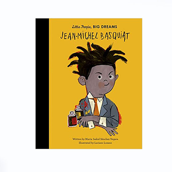 Little People Big Dreams Book Jean-Michel Basquiat