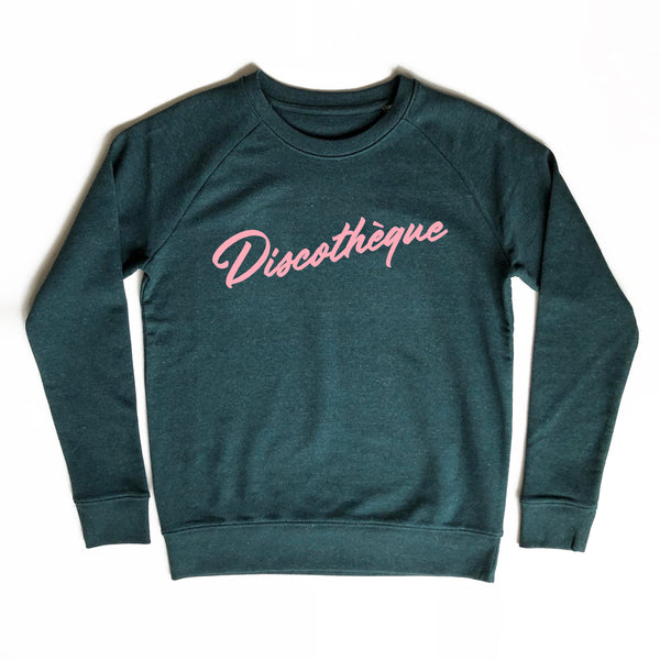 Discothèque Ladies Sweatshirt Dark Green