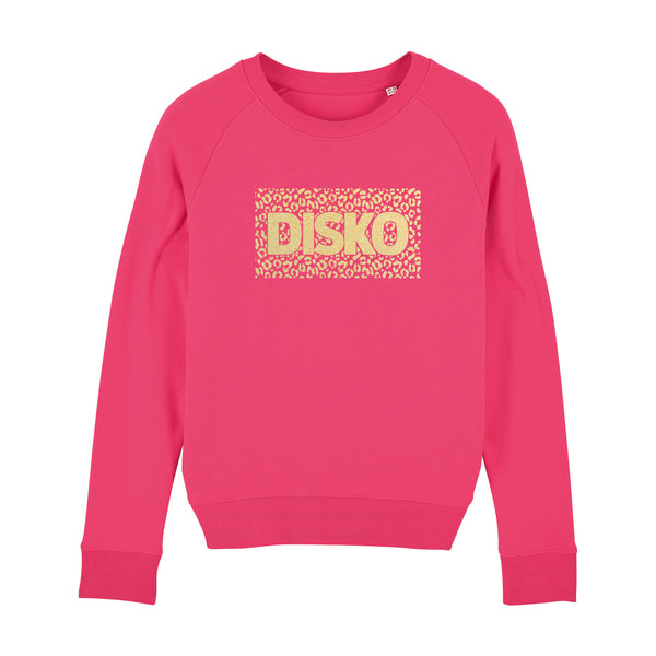 DISKO Collaboration Ladies Sweatshirt PInk