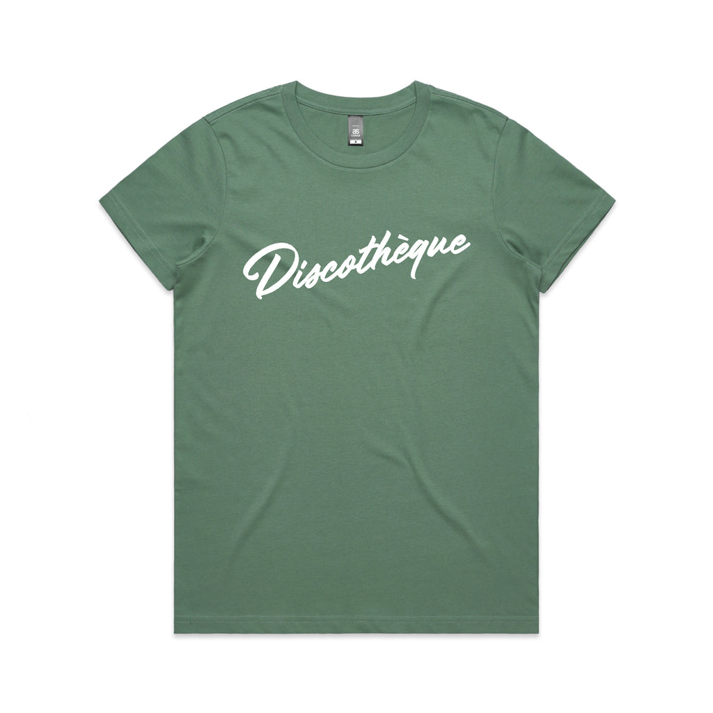 Discotheque Sage Ladies Tshirt