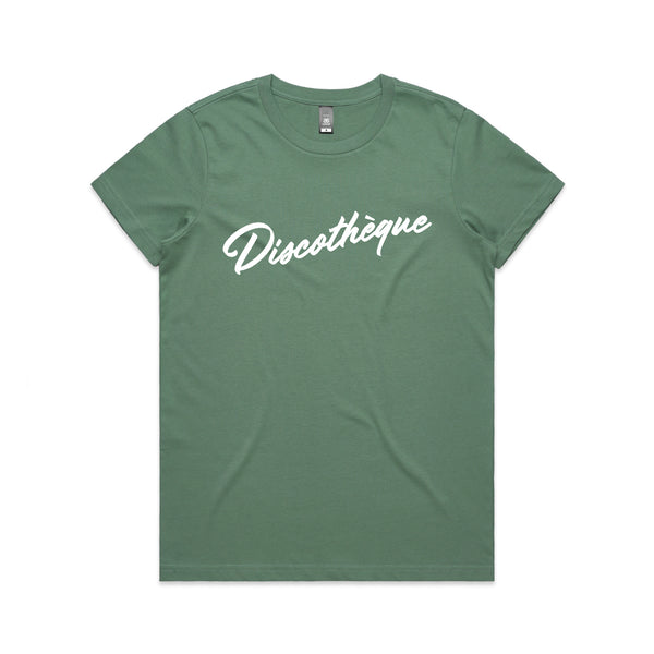 Discotheque Sage Ladies Tshirt xx m left xx