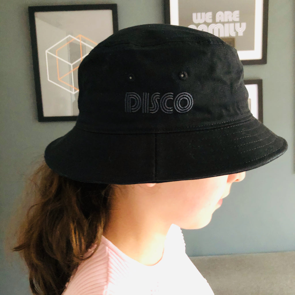 DISCO Bucket Hat Black