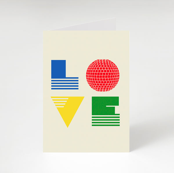 Love Is Greetings Card Primary