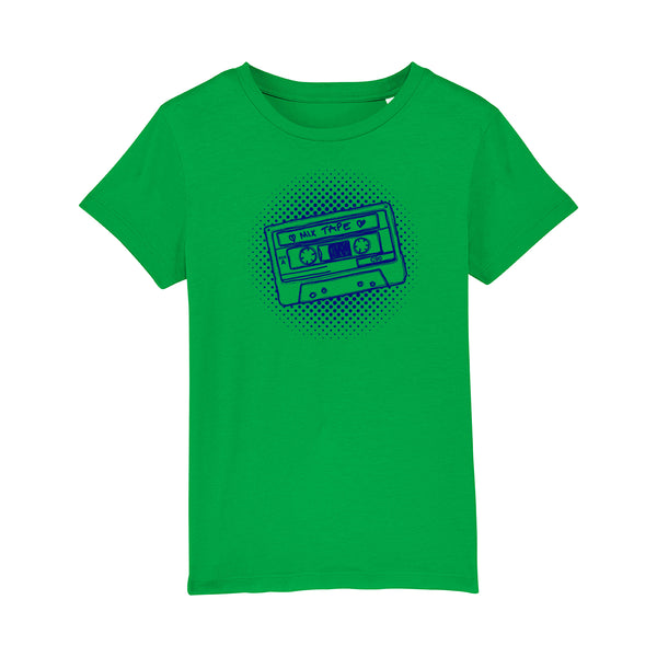 Mixtape Kids Tshirt Bright Green