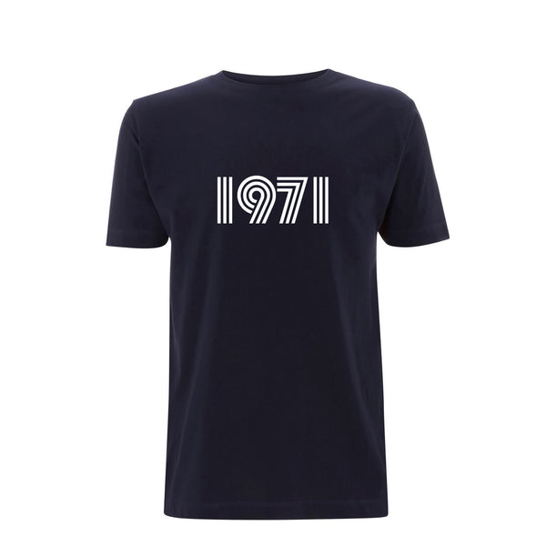 1971 Mens Tshirt Navy