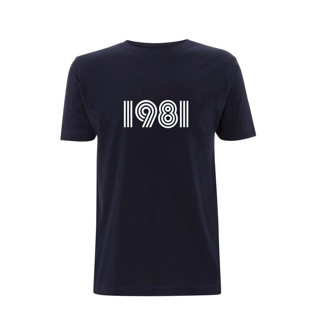1981 Mens Tshirt Navy