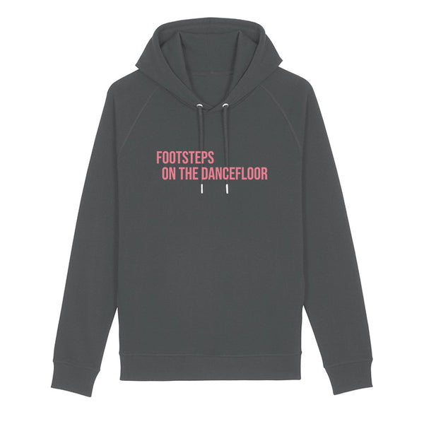 Footsteps Ladies Hoodie Grey