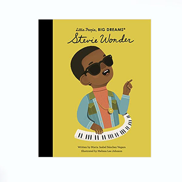Little People Big Dreams Book Stevie Wonder