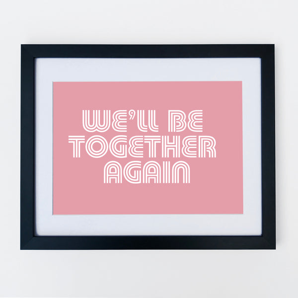 Together Print Pale Pink