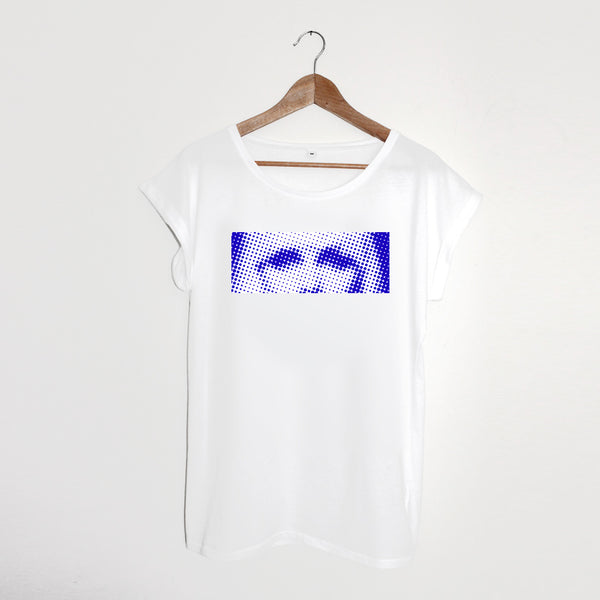 Blue Eyes Ladies Tshirt  * S & L left
