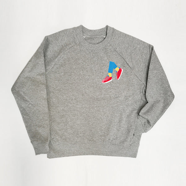 Get Your Kicks En Brogue X Disko Kids Collaboration Sweatshirt