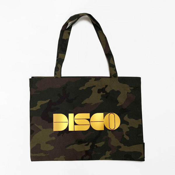 Disco Camouflage Bag Gold