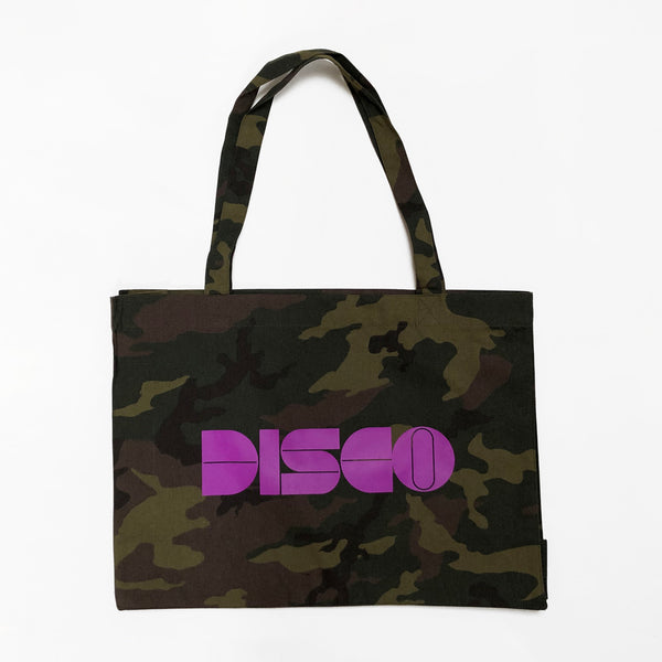 Disco Camouflage Bag Purple