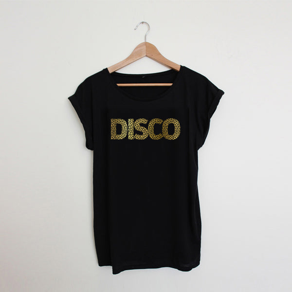 Leopard Disco Ladies Black / Gold