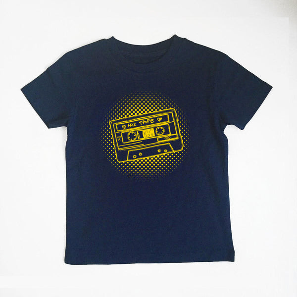 Mixtape Ladies Navy Tshirt