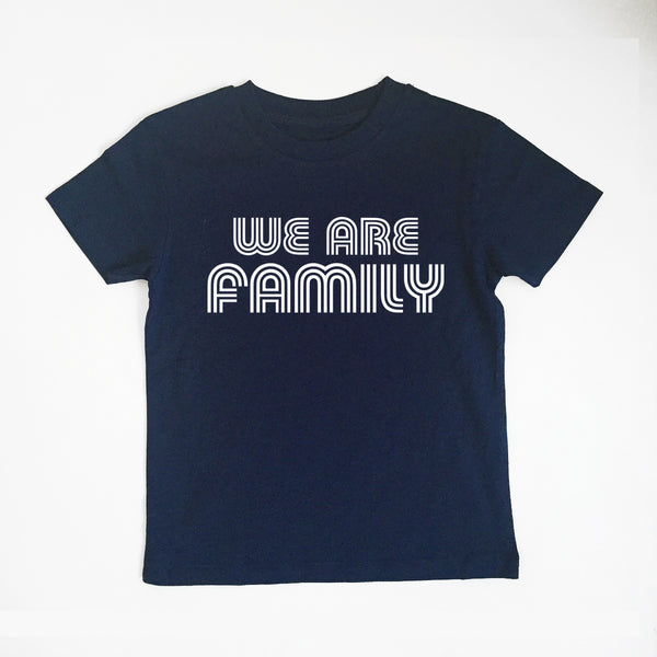 We Are Family Navy Kids xx 0-6  / 6-12 months left xx