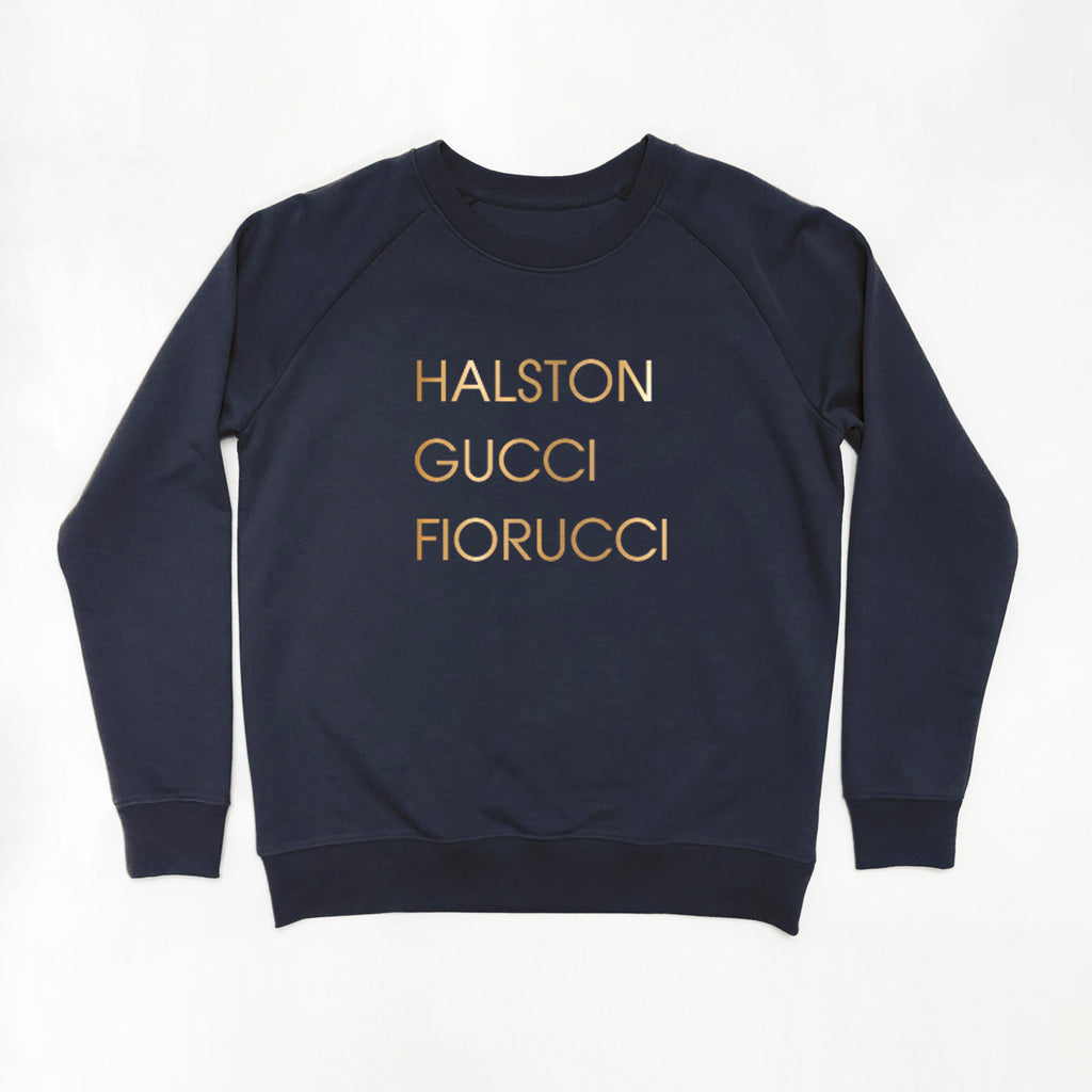 Greatest Dancer Ladies Sweatshirt Navy