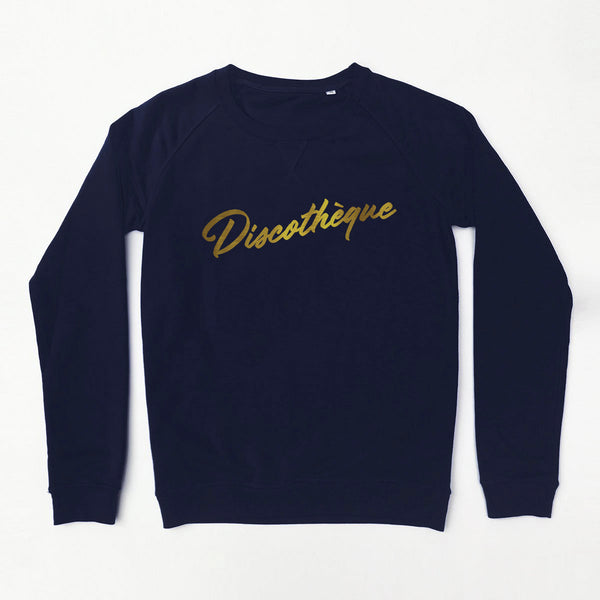 Discothèque Ladies Sweatshirt Navy xx XS left xx