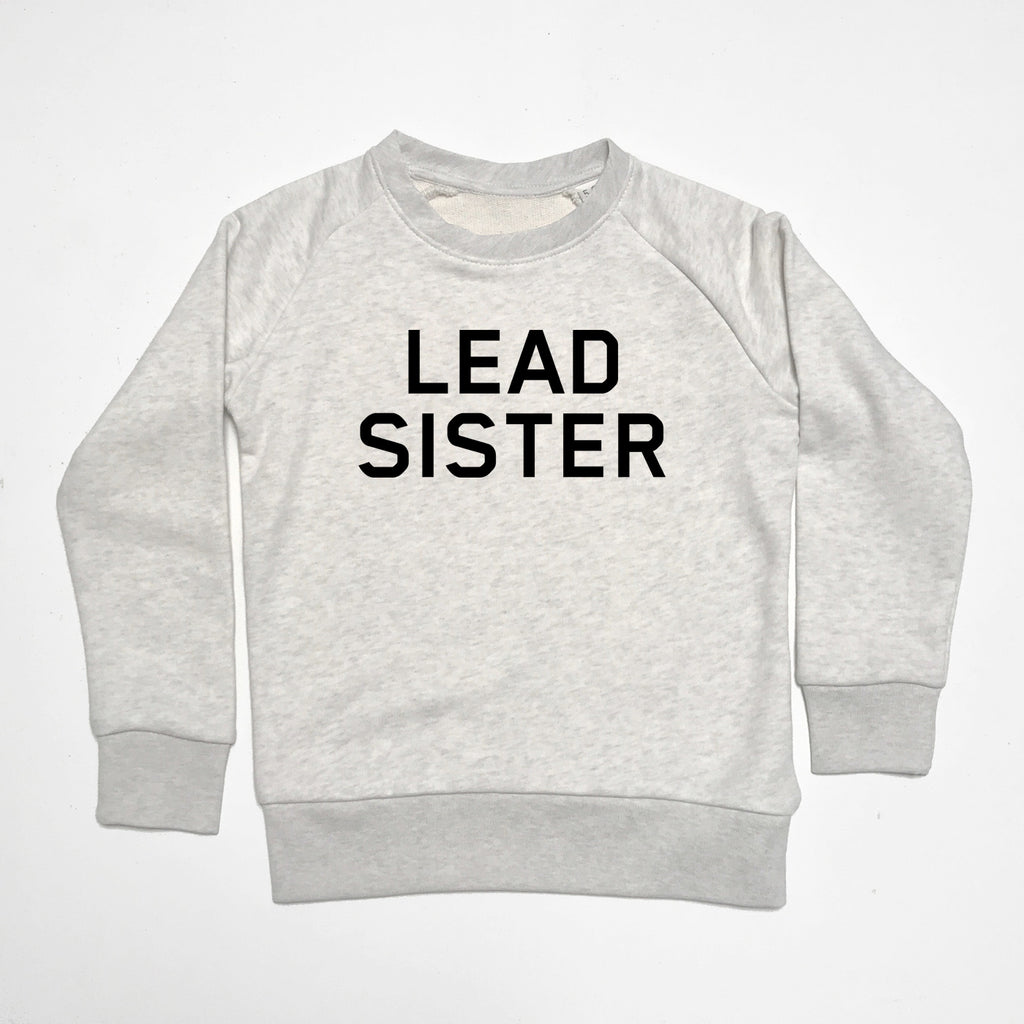 Lead Sister Kids Sweatshirt Cream Marl