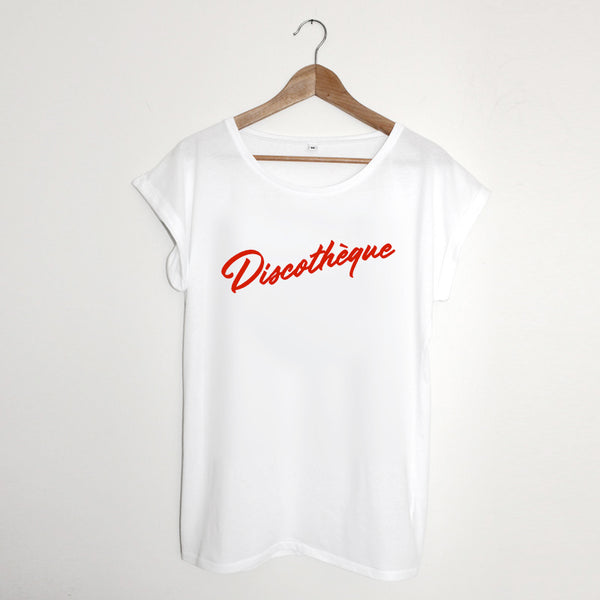 Discothèque Ladies White xx Large left xx